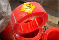 China Red Smooth Polyurethane Round Belt High Tensile Strength Round Belting factory