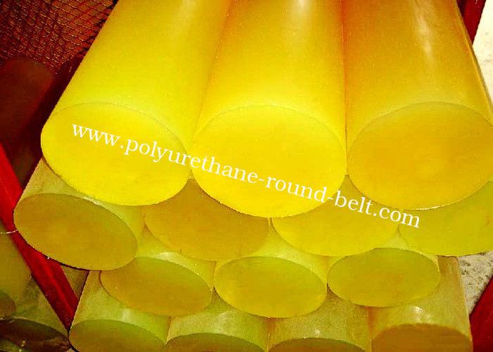 Anti Pressing PU Polyurethane Rubber Rod Hardness 60 Shore A 98 Sheet
