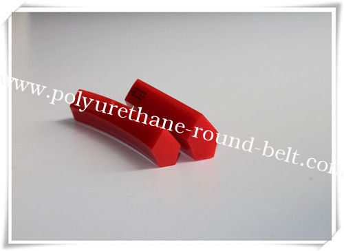 Ceramic Industrial Polyurethane V Belt For Conveying , PU extruded belt