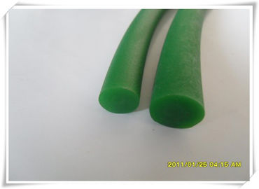 China PU Polyurethane Round Belt Good Resistance , Green Round Belt distributor