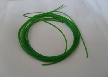 China Green and orange color smooth and rough Industrial Transmission urethane round belt Polyurethane Cord connected distributor