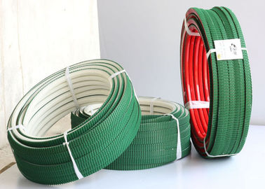 China White PU polyurethane Super Grip Belt with Top green PVC Vee Corrugated belt distributor
