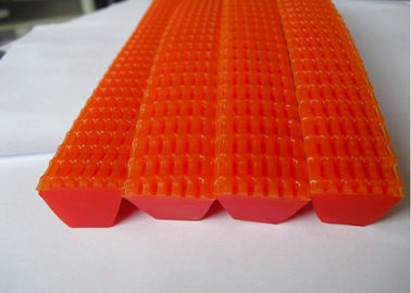 China Red Corrugated Grip Belt for Textile Easy Jointed Other Characteristics distributor