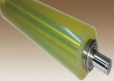 China Custom Industrial Colorful PU Polyurethane Coating Rollers Wheels Replacement, Polyurethane Rollers distributor