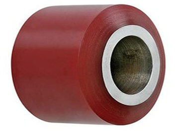 China OEM Industrial PU Polyurethane Rollers Wheels for Conveyor distributor