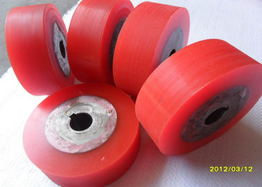 China Industrial Polyurethane Rollers Wheels Machinery Accessories Polyurethane Wheels distributor