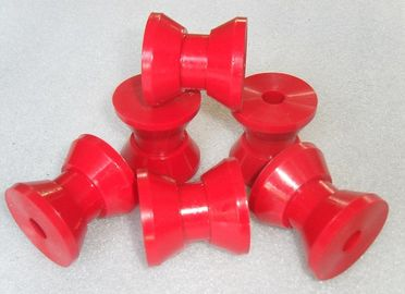 China Industrial Injection V-type Wheel of Machine Components Any color Polyurethane Parts distributor