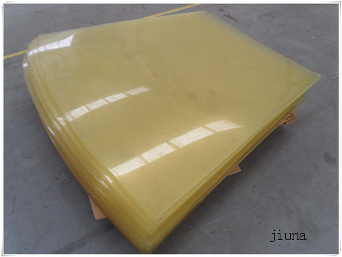 Oil Resistant Pu Plastic Polyurethane Rubber Sheet / Board Aging Resistant
