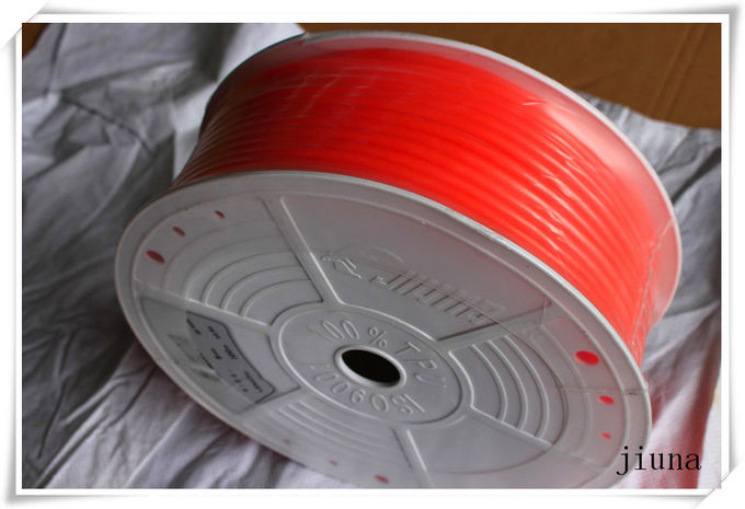 Orange Polyurethane Round Belt High Impact Resistance 85A - 90A Hardness