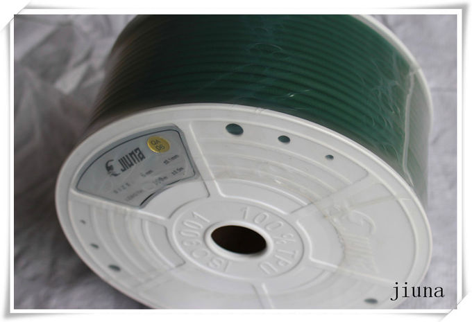 Green Tear Strength Rough Polyurethane Round Belt  High Tensile