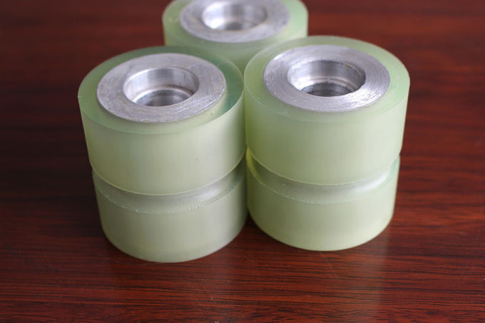 High Tensile Strength Polyurethane Wheels With Bearings , High Load