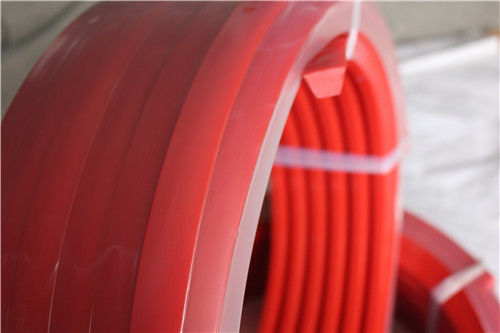 Polyurethane Products Red Round Belting Oil - Resistant Acid