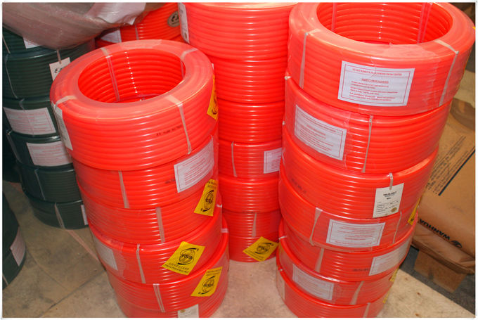 Diameter 12mm Orange Urethane Round Belt Surface Smooth Import Raw Material