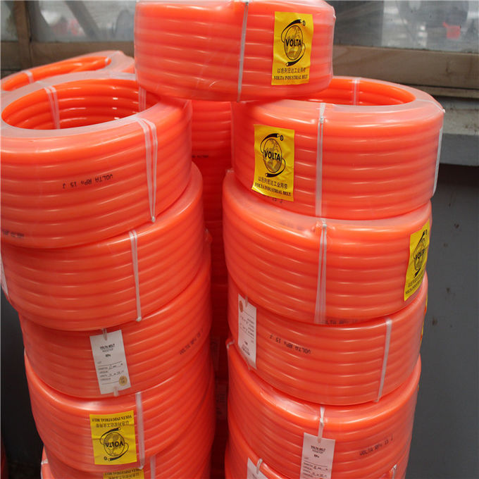 Smooth Polyurethane Round Drive Belting High Tensile Strength Wear Resisting