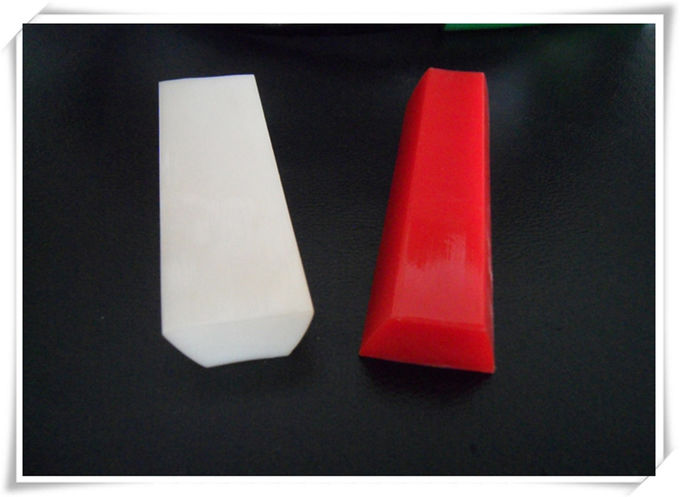 PU and PVC guide A  for Guiding on the conveyor belts Transparent, hardness 70A to 80A