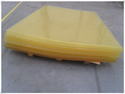 Wear Resistant Polyurethane Rubber Sheet Hardness 50 Shore A ~ 95 Shore A