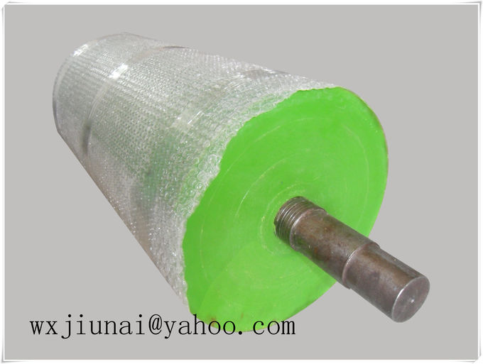 Durable Polyurethane Rollers For Machinery , Cementing Machine Rubber Roller