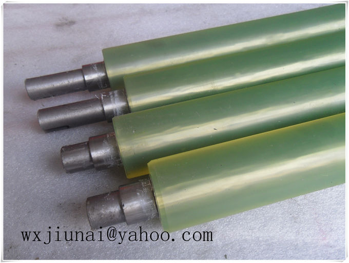 OEM  Polyurethane Coating Rollers High Strength For Machine Parts